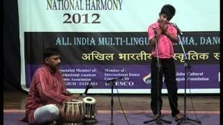 abhay deep mouth organ performance all india music competition in pune