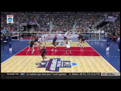 NCAA Finals Stanford Vs Texas Set 3