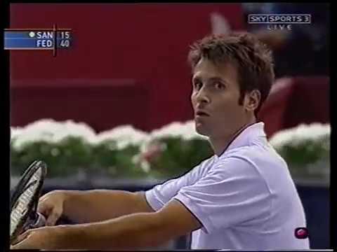 Madrid 2002 QF - Federer vs Santoro