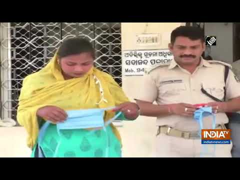 COVID-19 lockdown: Odisha Police assists couple to get married in isolation