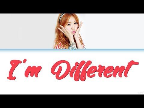 NC.A (앤씨아) – I'M DIFFERENT (난 좀 달라) Lyrics (Color Coded/HAN/ROM/ENG)