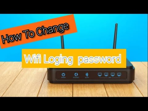 How To Change 📌Wifi Loging Password🛠🛠🛠🔨🔨