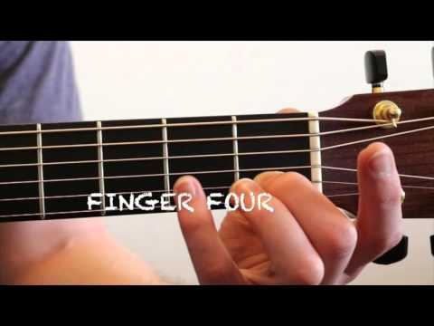 How To Play A Fmaj7 Chord On Guitar Youtube