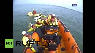 Uk: Dog Rescued By Rnli After Being Swept 800m From Shore