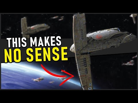 How Mon Cala created the Galaxy's DUMBEST Capital Ship | Star Wars Legends