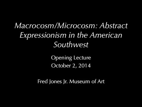 Macrocosm/Microcosm Opening Lecture