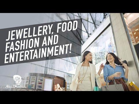 Explore great shopping destinations #InAbuDhabi