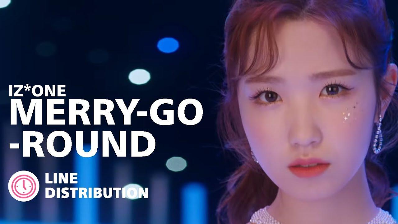 IZ*ONE (아이즈원) - Merry-Go-Round (Line Distribution)
