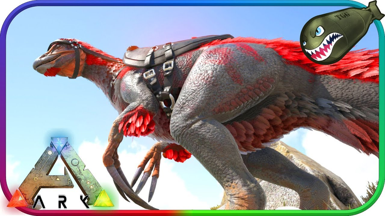 how to get alpha rex ark breeding