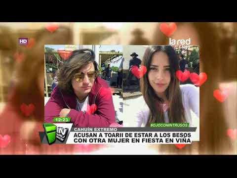 ¿Qué dirá Daniela Castillo? Las manos y los besos que complicarían a Toarii Valantin