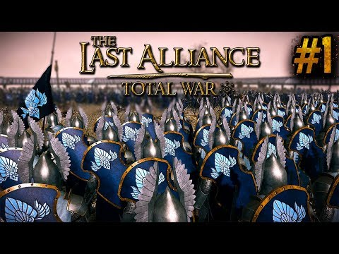 The Fall Of Numenor Campaign - Total War The Last Alliance #1