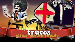 COMO CONSEGUIR ELIXIR OSCURO FACIL, GRATIS Y RAPIDO!!////Clash of Clans Español con bykingtraGames