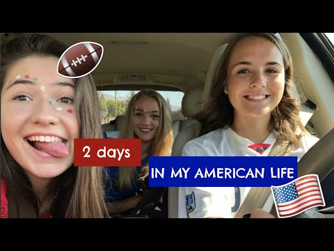 2 days in my American  life - exchange student