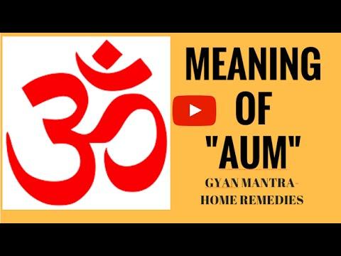 Meaning Of Om Chanting Om Om
