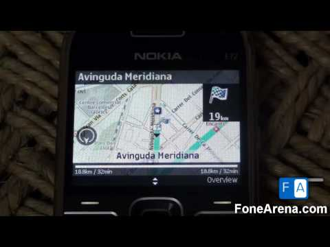 Nokia OVI Maps Story - Offline GPS Navigation on Nokia E72