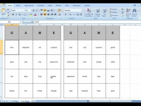 how to connect microsoft word with excel