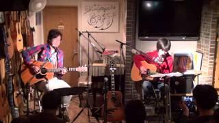 13年12月8日(日)@広島、置時計にて♪ 白いギターと置時計Special...
