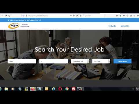 What is a job search engine?