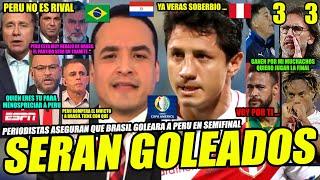 PERIODISTAS DE ESPN ASEGURAN QUE PERU SERA GOLEADO VS BRASIL│TITE PREOCUPADO│LAPADULA│LA PREVIA