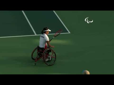 Day 5 evening | Wheelchair tennis highlights | Rio 2016 Paralympic Games
