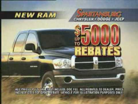 HDProProductions.com Spartanburg Chrysler Dodge Jeep $5000 Rebate