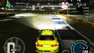 Need for Speed Underground 2,Honda Civic Drift (HD)