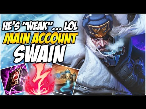 "ELECTROCUTE SWAIN IS ""WEAK""... LOL - Climb to Master S8 