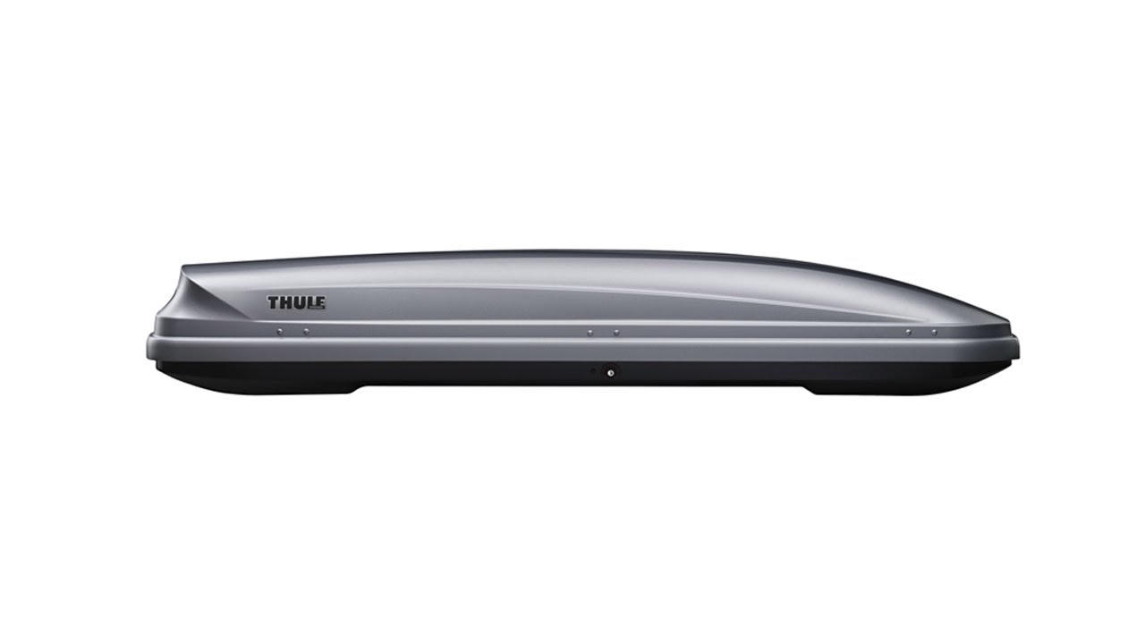Roof box - Thule Pacific - YouTube