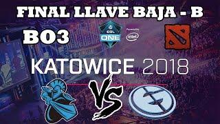 DOTA 2 STREAM - Newbee vs Evil Geniuses BO3 ESL ONE Katowice 2018
