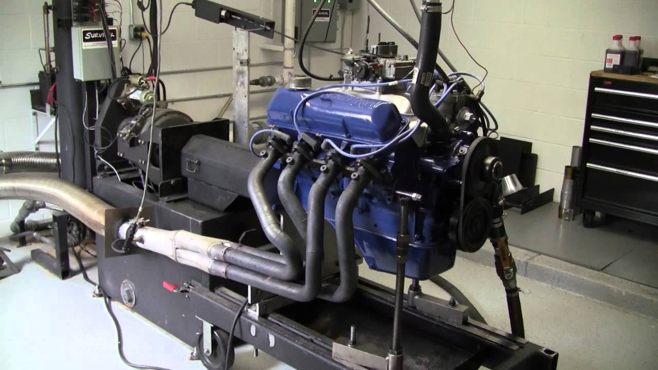 Ford 390 Fe On Dyno 331 Horsepower Youtube