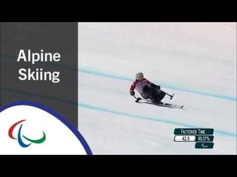 Akira KANO | Super-G | PyeongChang2018 Paralympic Winter Games