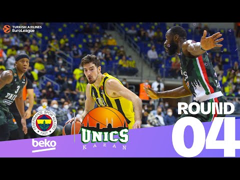 On-fire Fenerbahce thrashes UNICS!   Round 4, Highlights   Turkish Airlines EuroLeague