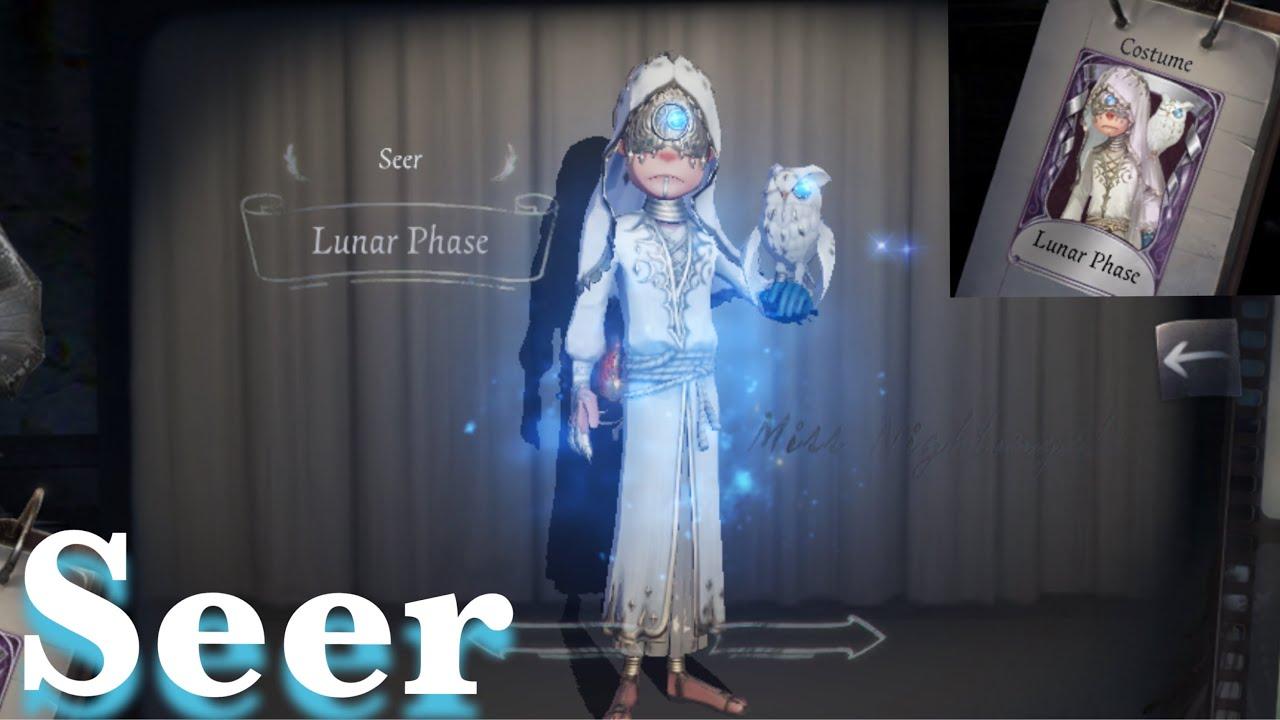 Identity V Seer Lunar Phase Skin Gameplay Youtube