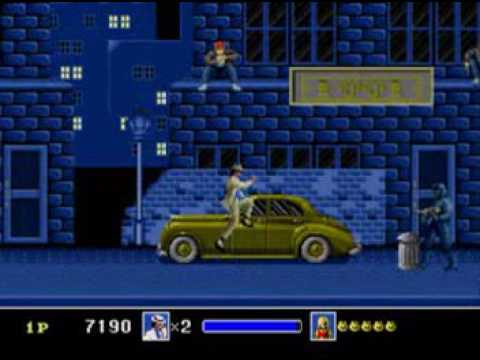 Michael Jackson Moonwalker  Sega Genesis Gameplay Full Game