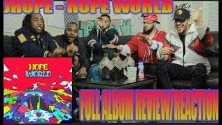 Download THIS MIXTAPE IS TOO LIT!! 🔥🔥 FIRST J-HOPE - HOPE WORLD FULL MIXTAPE REACTION/REVIEW