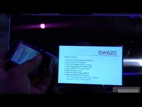CES 2010 - LG GW620 - BWOne.com