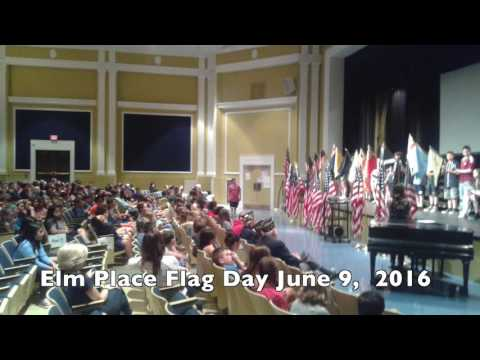 Flag Day @ Elm Place School June 9, 2016