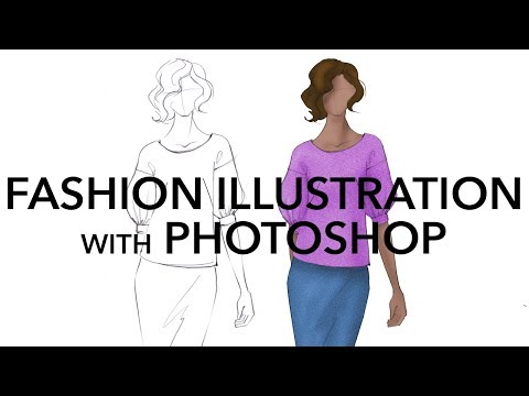 fashion illustration | Nikkies Tutorials