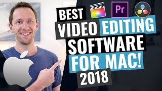 Gambar cover Best Video Editing Software for Mac 2018