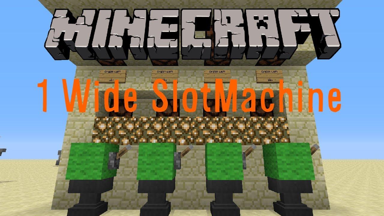 Minecraft pe slot machine