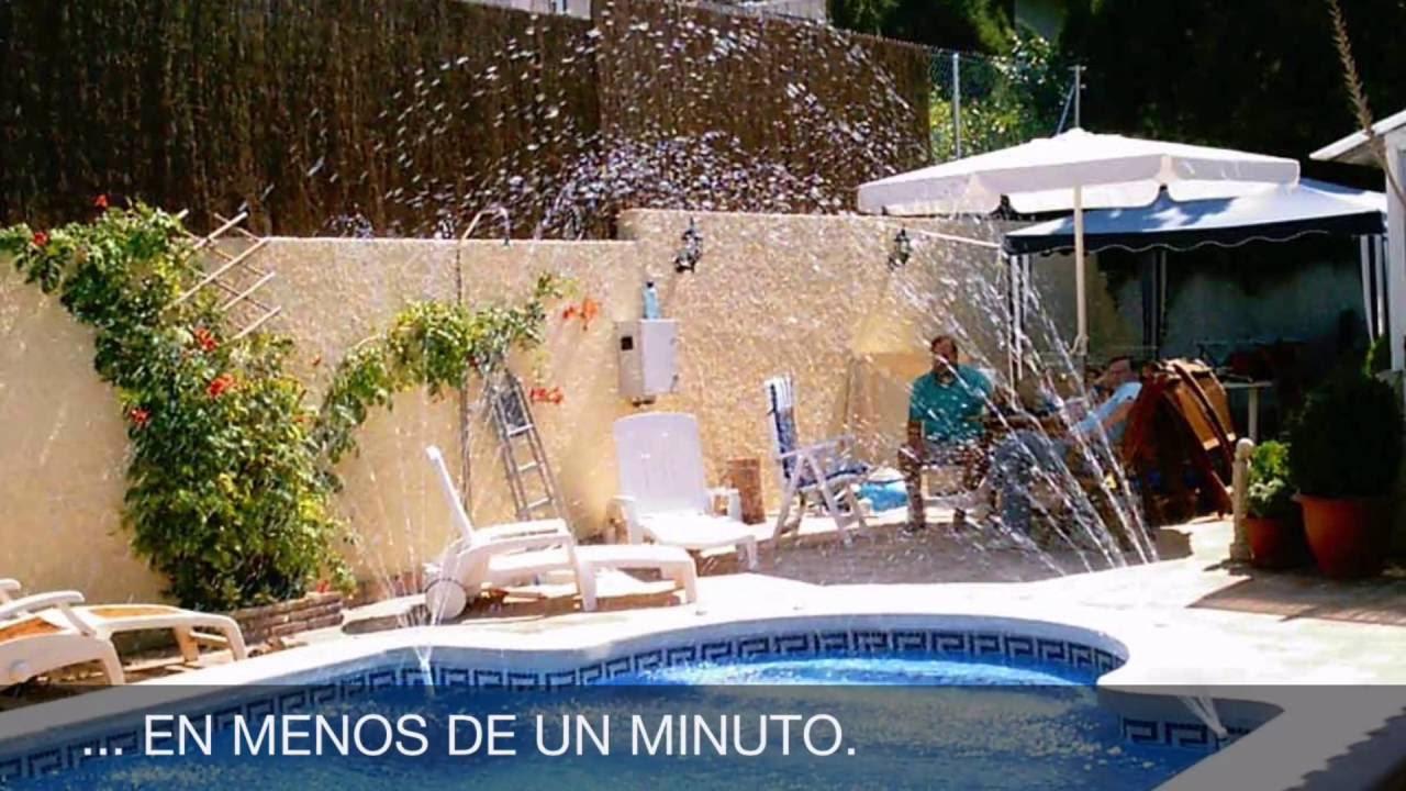 Fuentes para piscinas sin instalacion fuentes de jard n for Piscinas de jardin
