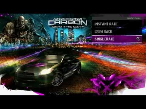 Need for speed carbon Own The City Cheats Free cars(PSP)