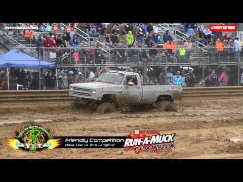 Dave Law vs Tom Langford During October 11, 2014 Mud Bog