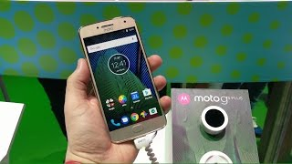 Hello Moto G5 Plus - First Impressions MWC 2017