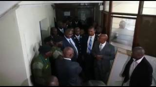 Standoff at City Hall as county staff 'fight' over office space