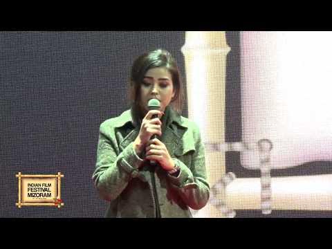 Indian Film Festival Mizoram - Rody H Vanlalhriatpuii Opening Address