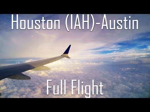 FULL FLIGHT   Houston (George Bush) to Austin   B737 MAX 9   United Airlines   UA1038