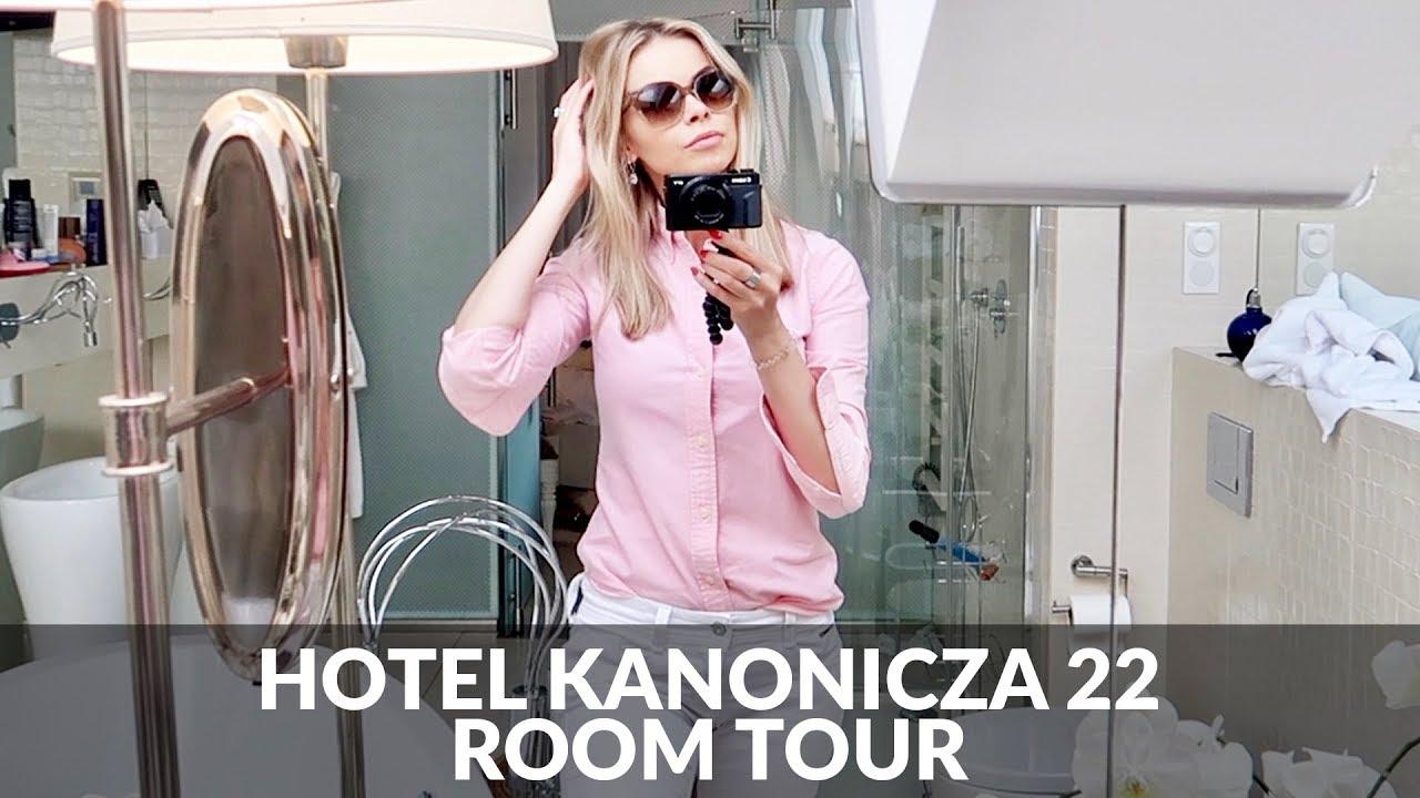 Hotel Kanonicza22 Kraków – mój pokój z jacuzzi na dachu room tour 2500 zł/noc