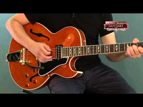 Gibson ES-195 Rockabilly Figured Electric Guitar