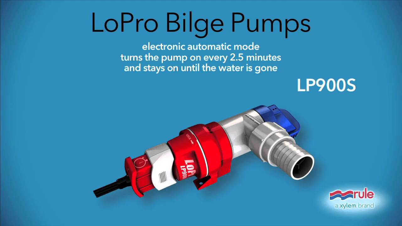 Rule 900 Auto Bilge Pump Wiring Diagram Trusted Mate 500 Automatic Lopro Lp900s Youtube System